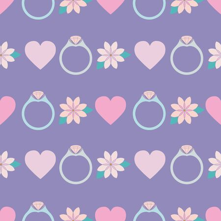 Lucky Symbols Collection Background Seamless Pattern Number 2