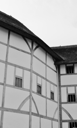 Shakespeare Globe Theatre medieval style building  Stock Photo - 24589782