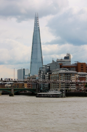shard: London cityscape with the Shard Editorial