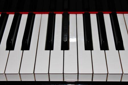 acoustically: piano keys