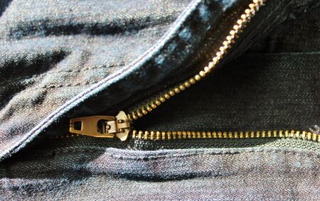 denim jean zipper zip photo