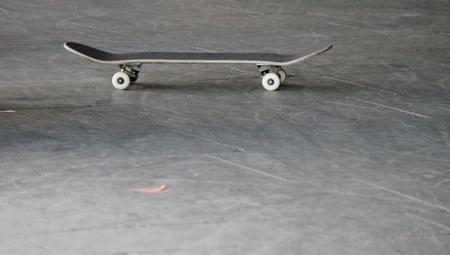 skateboard at skate park  photo