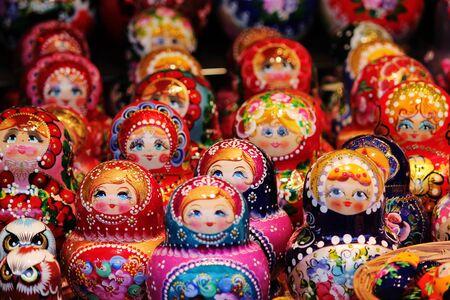 matroushka: Babushka Russian traditional nesting doll
