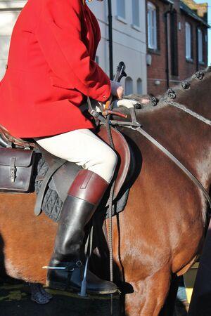weald: Huntsman on the horse