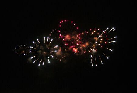 Fireworks Display explosion event background celebrate photo