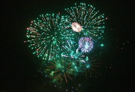 guy fawkes night: Fireworks Display esplosione evento sfondo festeggiare