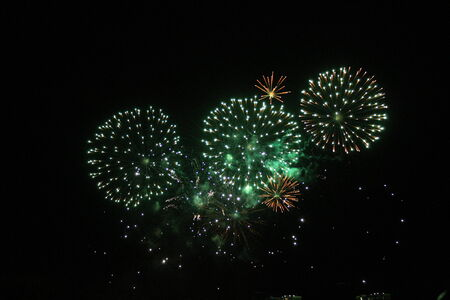 Fireworks Display event background photo