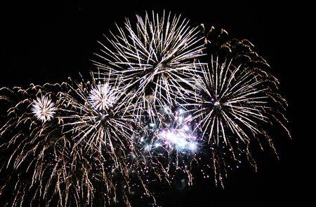 guy fawkes night: Fireworks Display esplosione evento sfondo festeggiare