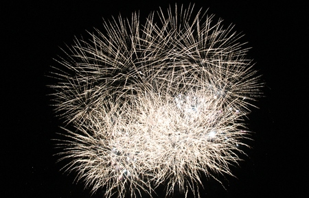 guy fawkes night: Fireworks Display evento sfondo esplodere