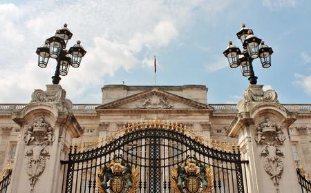 buckingham palace: Gates to Buckingham palace, London