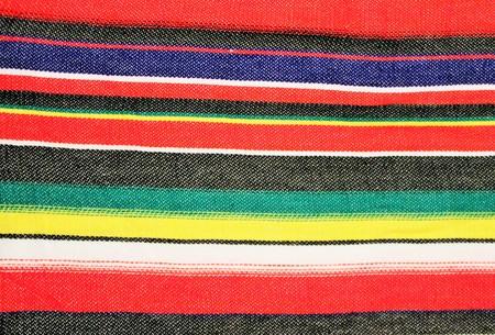 poncho: Mexico poncho stripe background with copy space Stock Photo