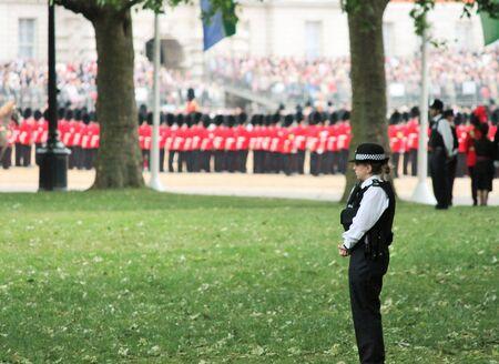 gaurd: London, UK-July 06, coldstream Gaurd soldier of the royal guard, July 06.2015 in London