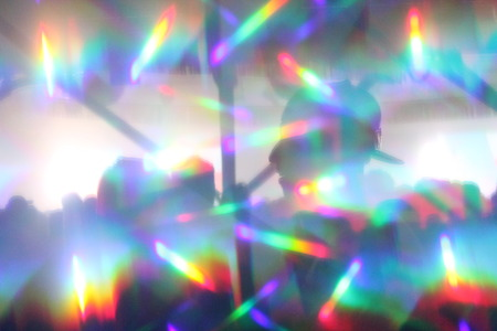 abstract lights nightclub dance party background lights and lasers
