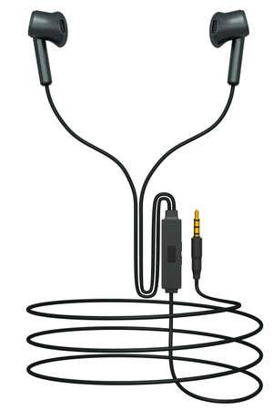 3D rendering of gaming earphones phones for cloud gaming and streaming 版權商用圖片