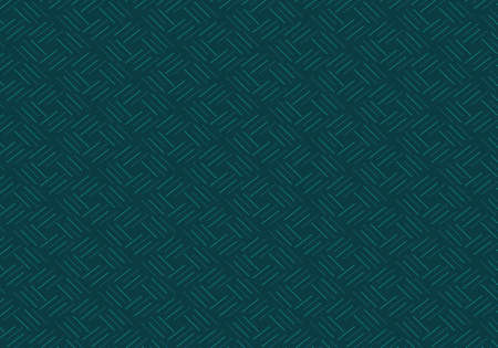 Vector pattern teal lines, repeat texture background. A simple geometric texture.