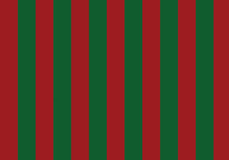 Christmas vector pattern striped background in green and red