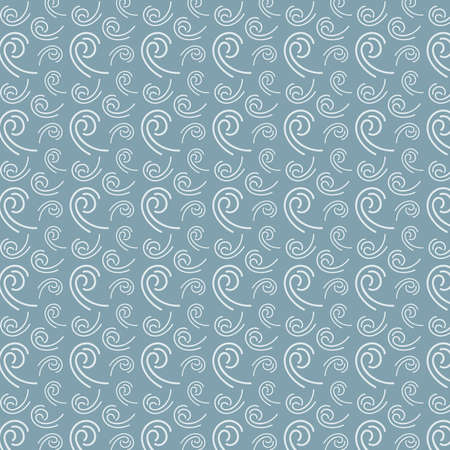 Wind pattern vector in blue and gray