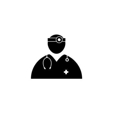 Doctor medical vector icon