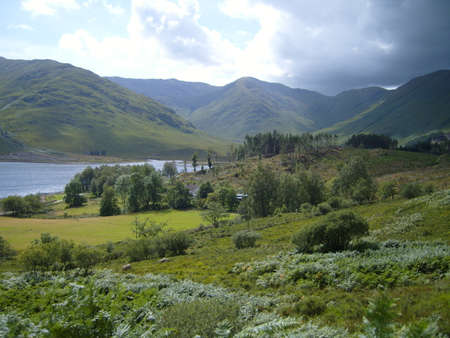 Scottish Highland Estate Landscape photo
