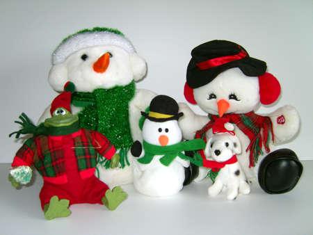 christmas frog: Festive Friends