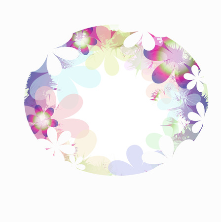 abtract background flower Vector