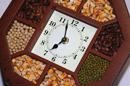 nicety: clock & grain
