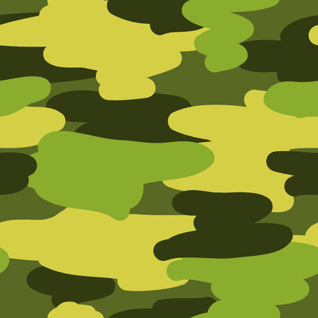 defenders: Seamless vector pattern camouflage coloring. Background for card to the Fatherland Defenders Day.