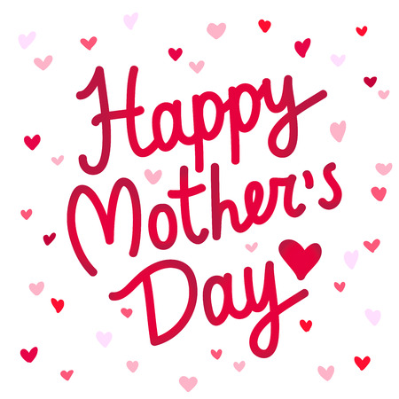 Happy Mothers Day. Excellent Gift Card. Lettering. Vector ...