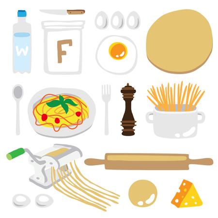 Cooking Spaghetti Clipart