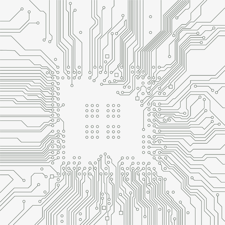 electronic background: Circuit board background. Vector electronic background