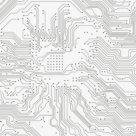 electronic board: Circuit board background. Vector electronic background. Illustration
