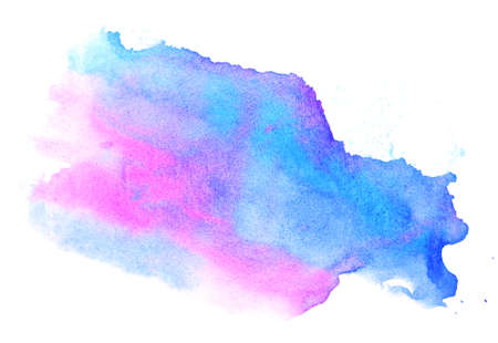 smudge: Watercolor blue-violet background. Beautiful abstraction. Elements for design.