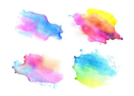 smudge: Watercolor backgrounds. Beautiful abstraction. Elements for design.