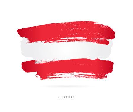 Flag of Austria Imagens - 86147919