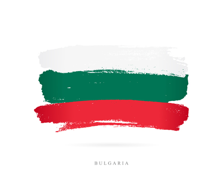 Flag of Bulgaria Vector illustration