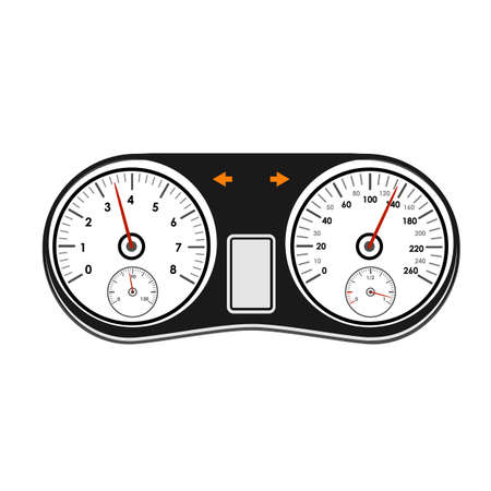 airbag: Automotive icons theme on a white background
