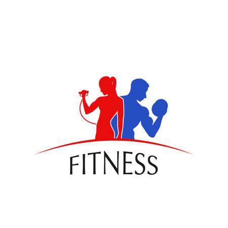 Fitness Center , label, icon - vector illustration