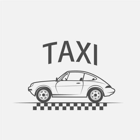 taxi logo, car taxi, taxi lables - vector illustration