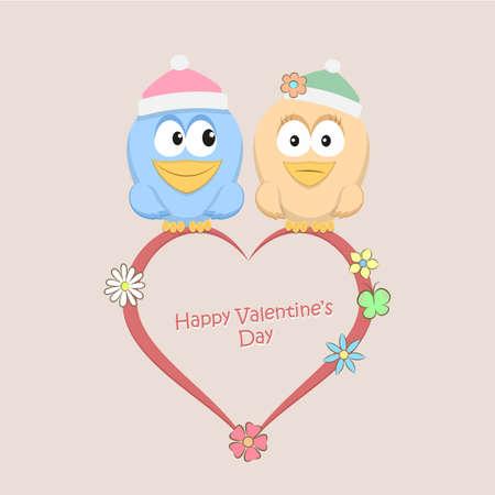 Illustration of Love Birds Illustration
