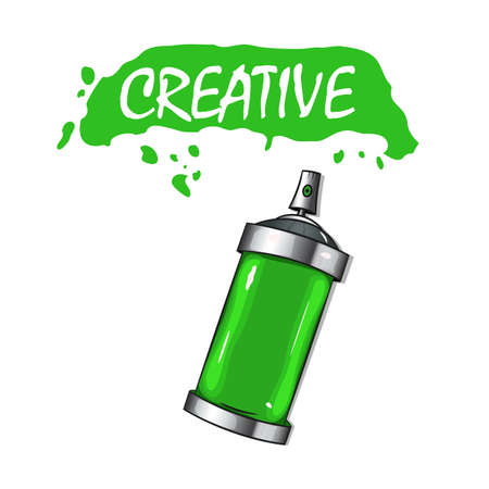 Paint cans with paint