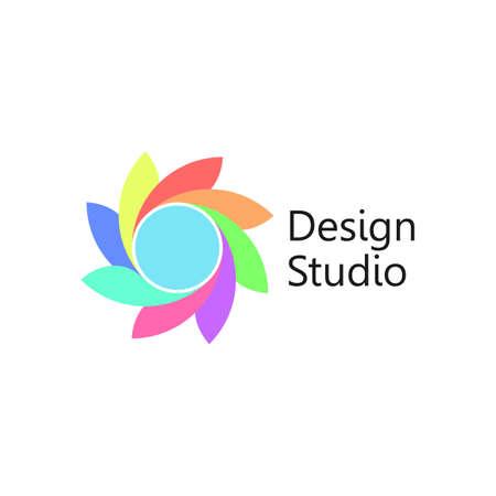 Simbolo astratto icona elemento di design. Vettore EPS 10, raggruppato per un facile montaggio. Nessuna forma o percorso aperti. Archivio Fotografico - 92219330