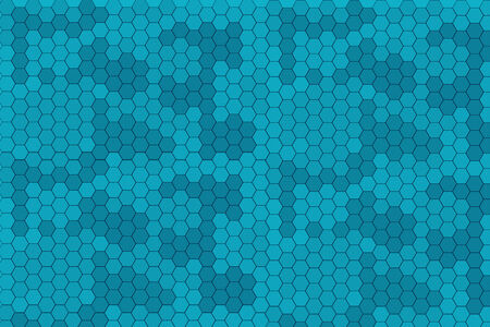 hue: Illustration of a series of random blue seamless tiles with varying hue