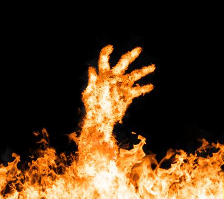 火の手 写真素材 - 41515115