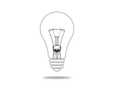 classic light bulb: Classic light bulb. Stock Photo