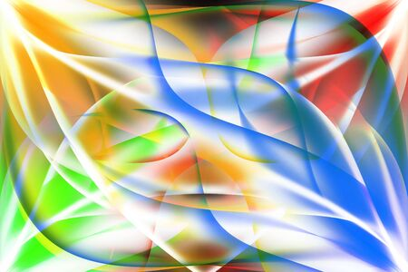 shedding: Abstract colored background. Illustration of colored flame Stock Photo
