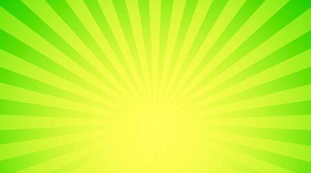 Illustration shiny sunbeams. Bright sunbeams on green background. Abstract bright background 版權商用圖片 - 46785465