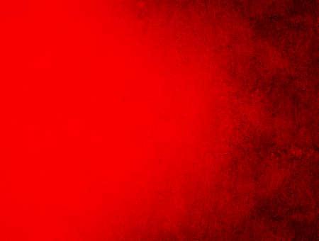 グランジの赤い壁。赤いクリスマスのテクスチャ背景 写真素材