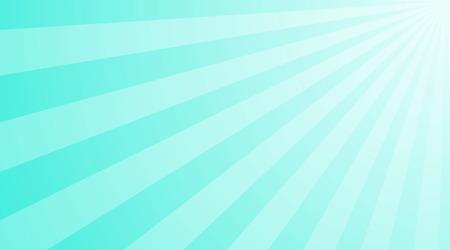図光沢のある太陽光線。青の背景に明るい太陽の光線。抽象的な明るい背景