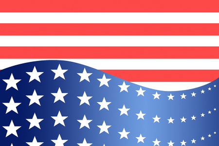 patriotic: Patriotic wave background. An image of a patriotic star banner background