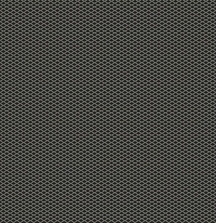 Seamless mesh on black background. Seamless chain link fence on black.